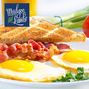 Breakfast Pack - 1kg Premium Bacon & Dozen Free Range Eggs