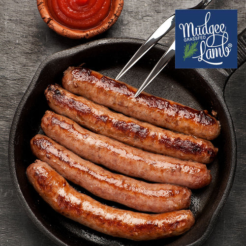 Grass Fed Black Angus Yearling Beef Sausages - Gluten Free