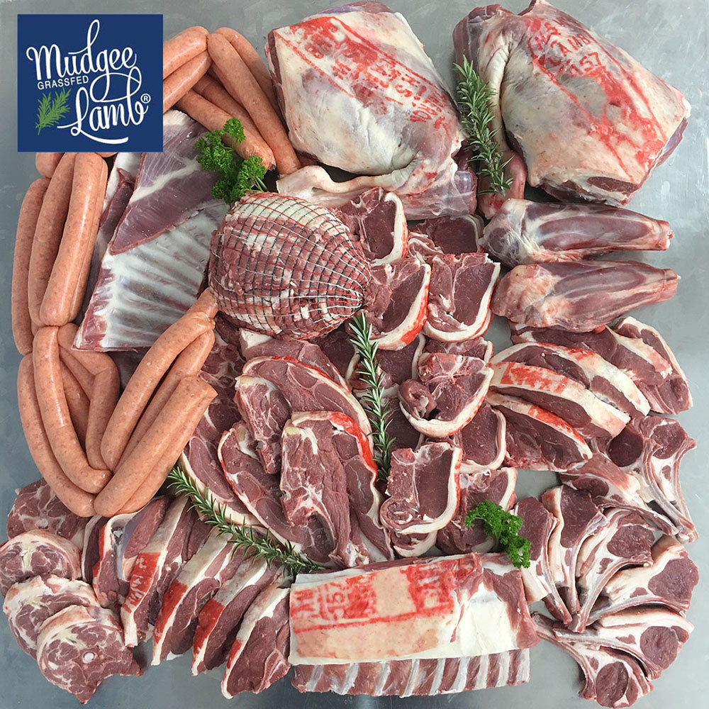 Grass Fed Full Lamb Pack