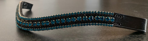 18mm curve browband Aqua and Jet browband Cob
