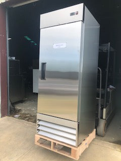 Single Door Stainless Freezer