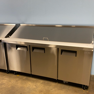 "70"" Mega Top Refrigerated Prep Station"