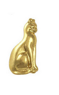 Egyptian Cat Nail Charm - Luxury Beauty