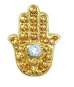 Egyptian Hamsa Hand Nail Charm - Luxury Beauty