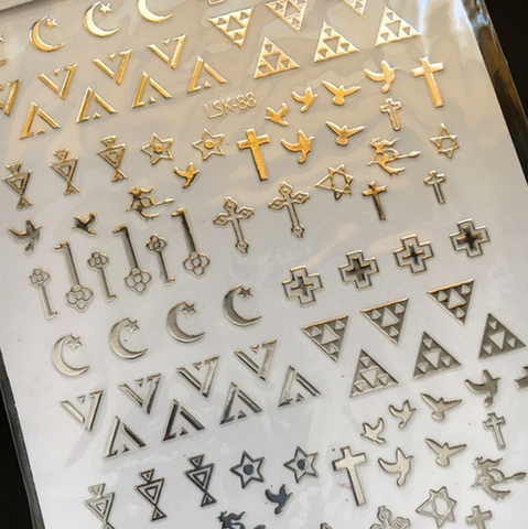 Rose Gold Stickers - Luxury Beauty