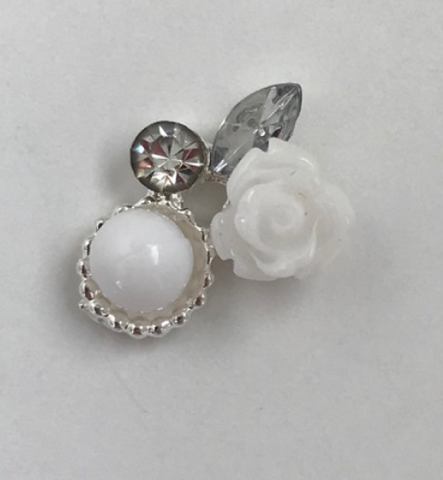 White Rose Charm - Luxury Beauty