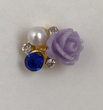 Flower Jewelled Charm - Luxury Beauty