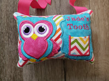 Tooth fairy pillow - owl - personalized - woodland animal - fantasy - keepsake tooth fairy pillow - girl tooth fairy pillow - custom colors