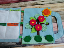 Four seasons felt board - quiet board - activity board