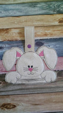 Easter Bunny - Towel Topper - Home Decor - Easter Decoration - towel included - Kitchen Towel Holder - House warming gift - Easter Basket