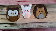 Amimal Finger Puppets for Kids, Felt Finger Puppets Woodland Baby Shower Gift, Kids Puppet Show Accessories, Cute Felt Finger Puppet Animal