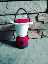 Felt Campfire with lantern play set - Felt Bonfire Playset - kids camping - play campfire - campfire play set - gift for kids