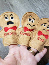 Emotions quiet book page - Feelings finger puppet - busy book - activity book - gift for kids - teaching book - happy - sad - confused