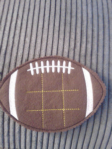 Football Tic Tac Toe - Pick Your Team Colors - Strategy - classic game - quiet game - team - educational