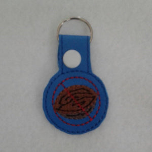 Allergy Alert Snap Tab -  Keychain - Backpack - Gluten Allergy - Peanut Allergy - Tree Nut Allergy - Zipper Pull - Medical Bag Tag