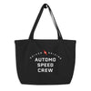 Driven & Driving Automo Speed Crew Tote Bag - Automo