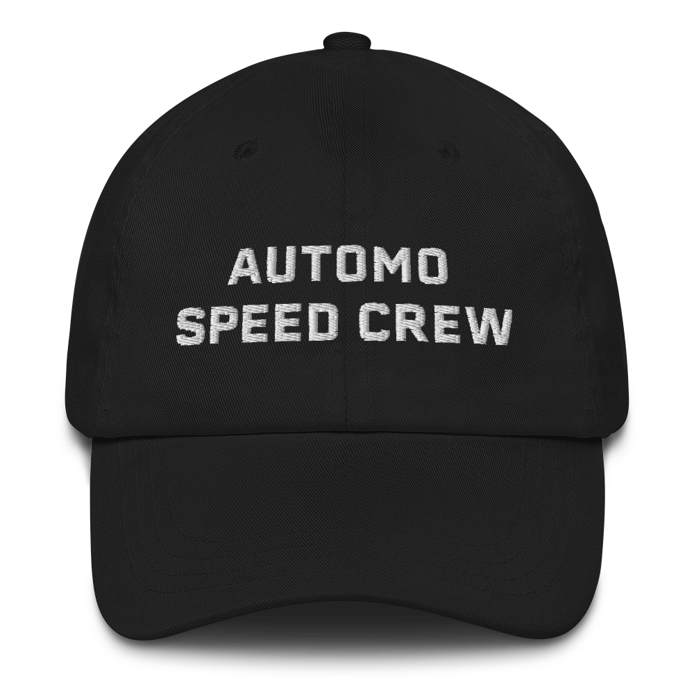 Automo Speed Crew Hat Black - Automo