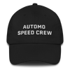 Automo Speed Crew Hat Black -  Headwear - Automo Design Co.