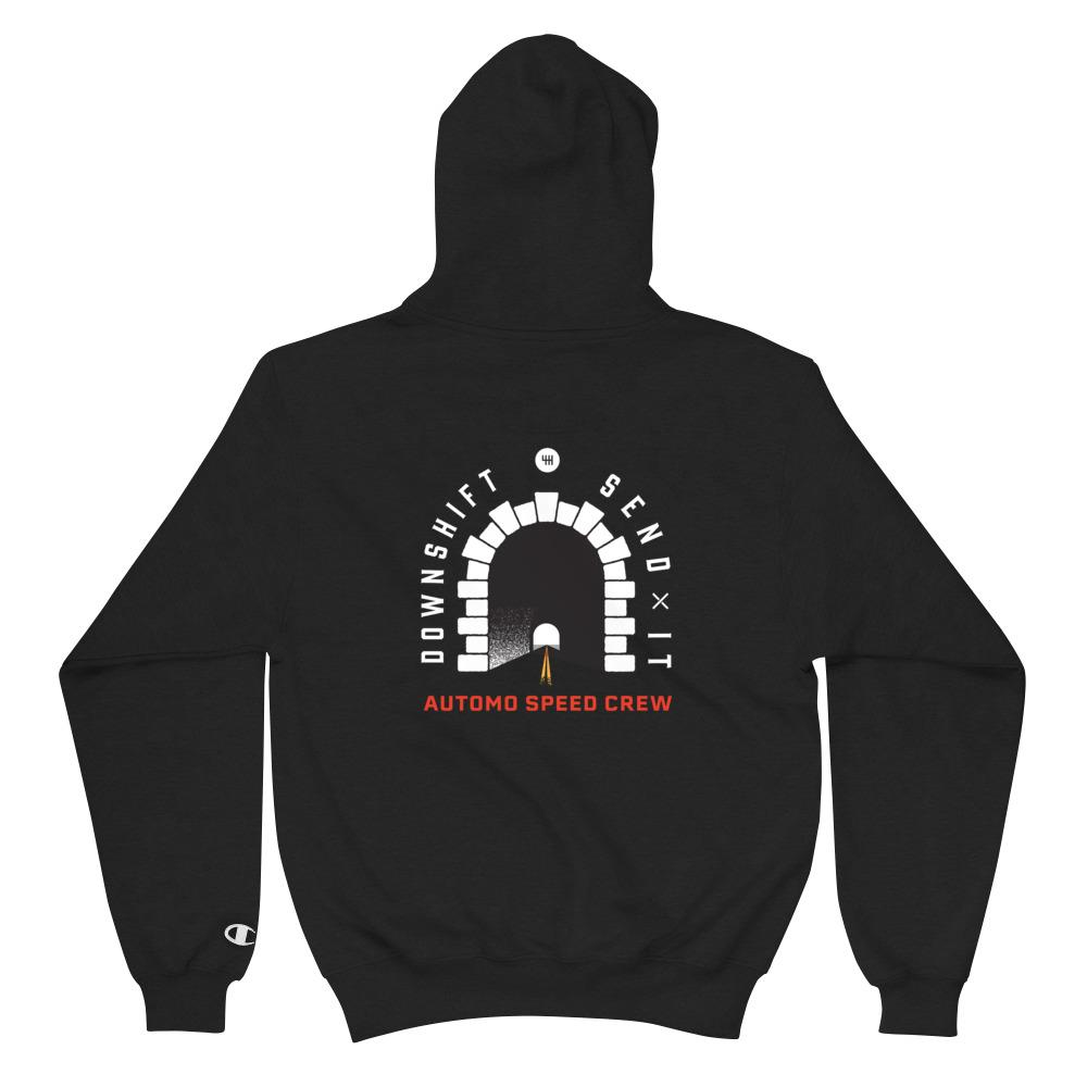 Downshift, Send It - Champion Hoodie - Automo