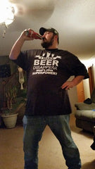 custom beer t shirt