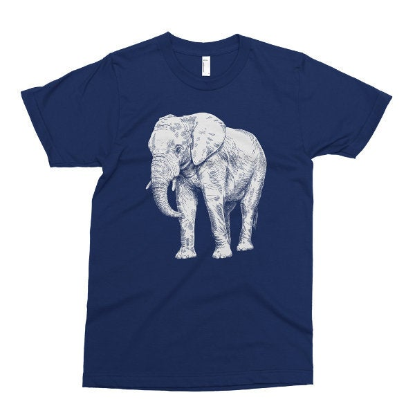Kids Shirt, Elephant Tshirt, African Elephant T Shirt, Safari Animal, Youth & Toddler
