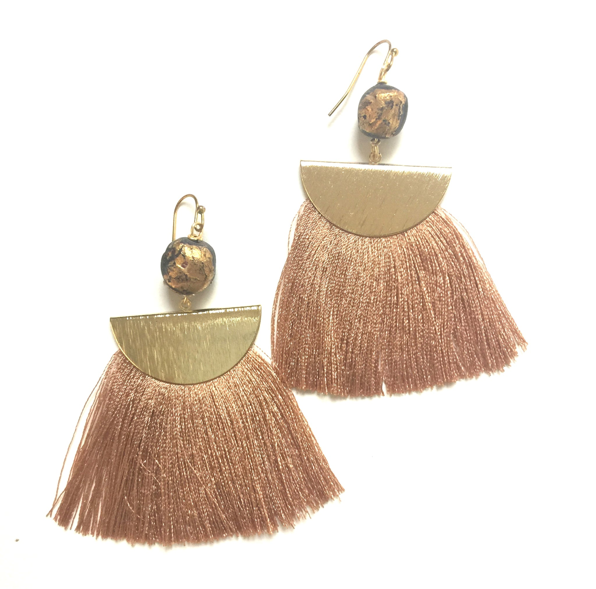 Bronze La Plage Earrings