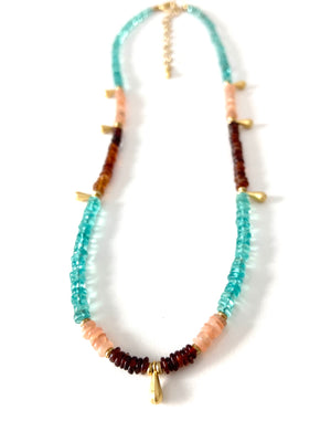 Mojave Sunrise Necklace in Multi Mojave