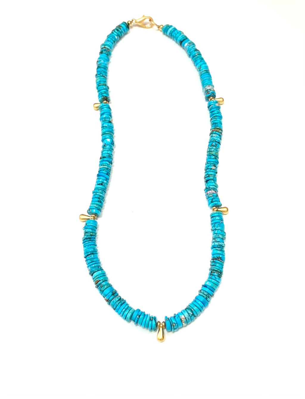 Essential Stone Necklace (Turquoise)