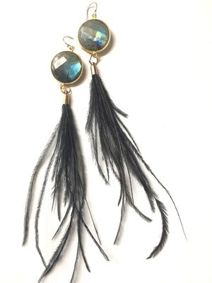 Sensei Feather Earrings