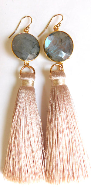 Stoned Love Tassel Earrings