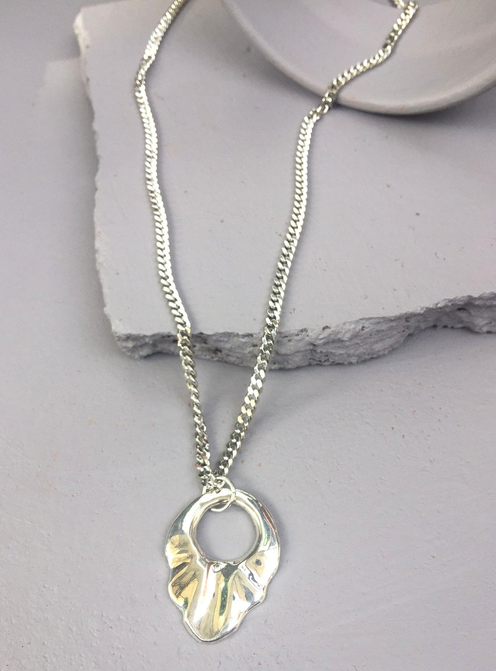 Silver Lawless Necklace