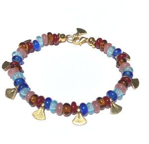 Radial Glass Bracelet
