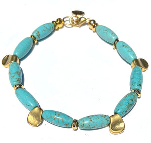 Turquoise Pinch Bracelet