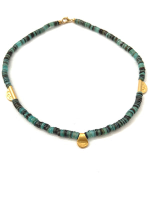 Turquoise Waters Collar  Necklace