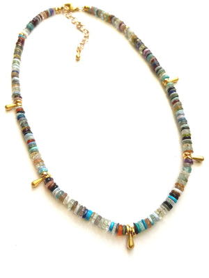 Essential Stone Layer Necklace