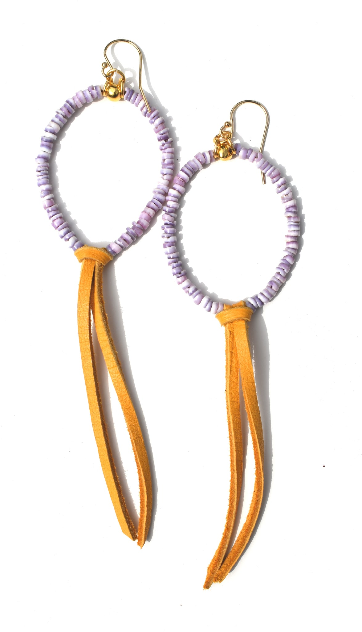 Urchin Hoop Earrings