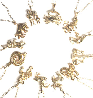 Whats Your Sign Zodiac Necklace