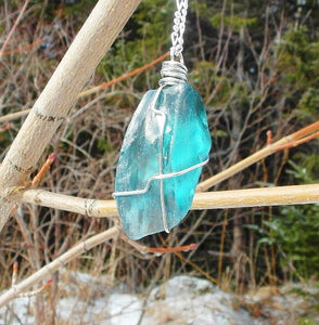 Newfoundland Seaglass Pendant Necklace