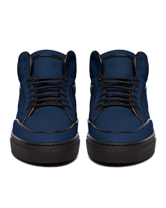 Navy & Black Maxi High Top Sneaker