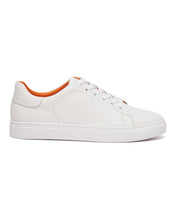 White - Originals Embossed Monogram Low Top Sneaker