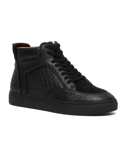 Black -  Maxi High Top Sneaker
