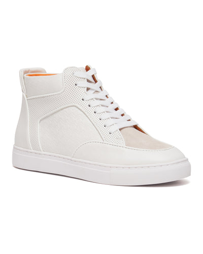 White -  Maxi High Top Sneaker