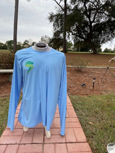 Load image into Gallery viewer, Blue long sleeve shirt