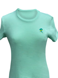 Women's Light Green T