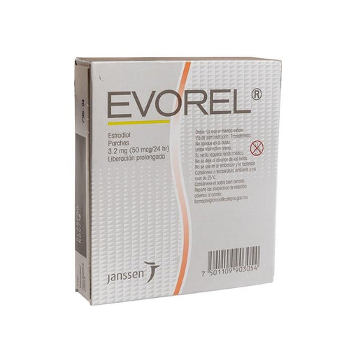 EVOREL 50 3 2MG PARCH C8