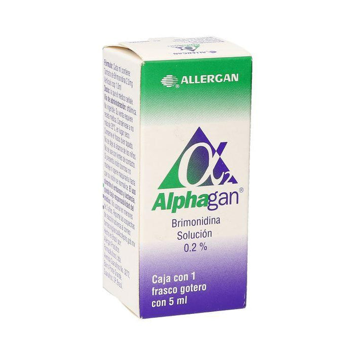 ALPHAGAN SOL 5ML