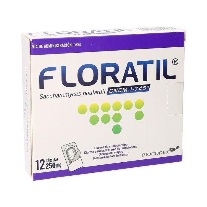 FLORATIL 250MG CAP 12