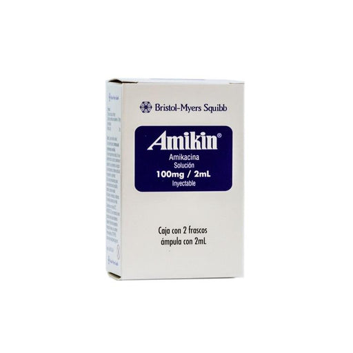 AMIKIN PED 100MG F A 2ML C2