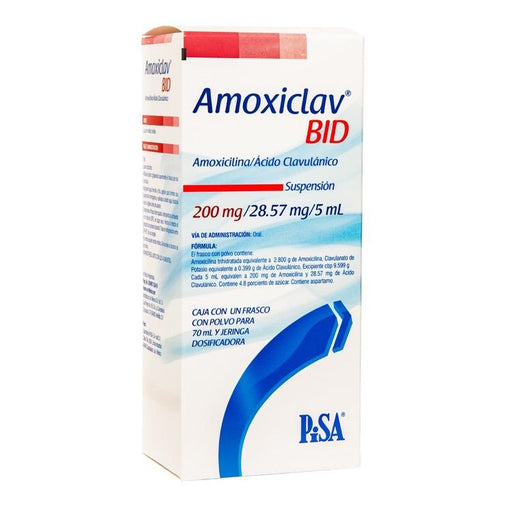 AMOXICLAV BID ORAL 200MG 70ML