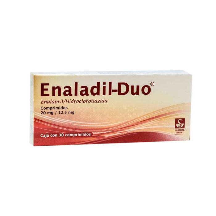ENALADIL DUO 20/12 5MG CPR C30